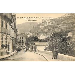63 - Puy-de-Dôme [63] Royat-les-Bains - Boulevard Bazin et l'Observatoire.