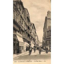 63 - Puy-de-Dôme [63] Clermont-Ferrand - La Rue Neuve.