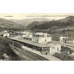 63 - Puy-de-Dôme [63] La Bourboule - La Gare et la Vallée du Mont-Dore.