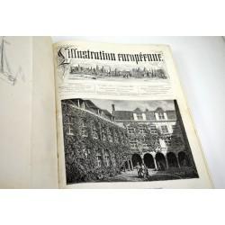 ABAO Illustration européenne (L') L'Illustration européenne. 1875/11/13 à 1876/11/04. 6ème année.