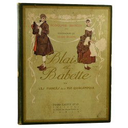 ABAO Livres illustrés Bringer (Rodolphe) - Blaise et Babette. Illustrations de Henri Morin.
