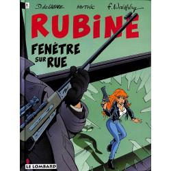 Bandes dessinées Rubine 02 + Dédicace.