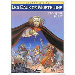 ABAO Bandes dessinées Les Eaux de Mortelune 01 (ré) + Dédicace.