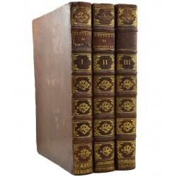ABAO Littérature Fontenelle (Bernard Le Bouyer de) - Œuvres diverses. 3 tomes.