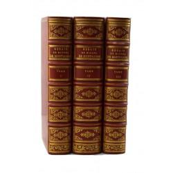 ABAO Philosophie Montaigne (Michel de) - Les essais… 3 tomes.