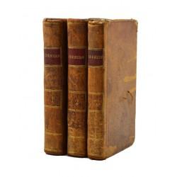 Littérature Crébillon (Claude-Prosper Jolyot de) - Oeuvres de Crébillon. 3 tomes.