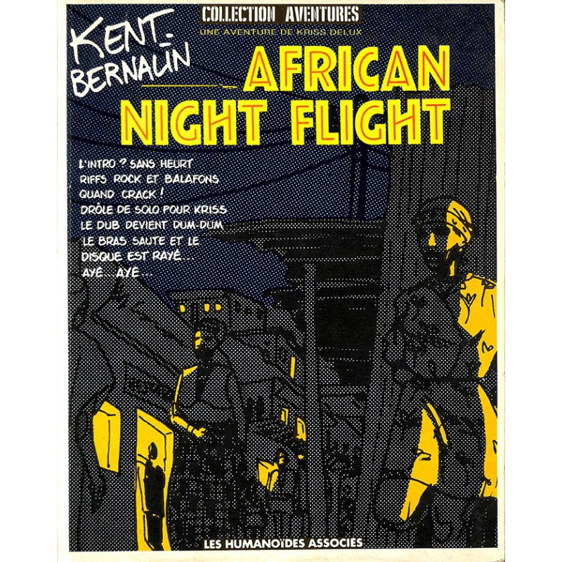 Bandes dessinées African Night Flight