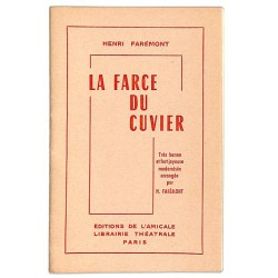 ABAO Théâtre Farémont (Henri) - La Farce du cuvier.