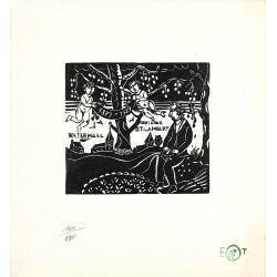 Gravures Tytgat (Edgard) - Bois d'anniversaire 1879-1929.