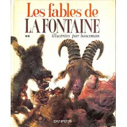 Livres illustrés Hausman (René) - Les Fables de La Fontaine **.