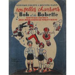 ABAO Partitions Groffe (René-Paul) & Zimmermann - Nouvelles chansons de Bob et de Bobette.