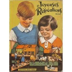 Enfantina Joyeuses rcréations. Illustrations par Okey.