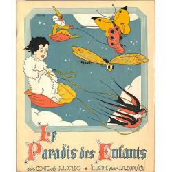 Enfantina Delbo (J.J.) - Le Paradis des enfants. Illustrations de J.A. Dupuich.