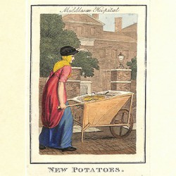 ABAO Gravures [Londres] Philips (Richard) - Middlesex Hospital. New Potatoes