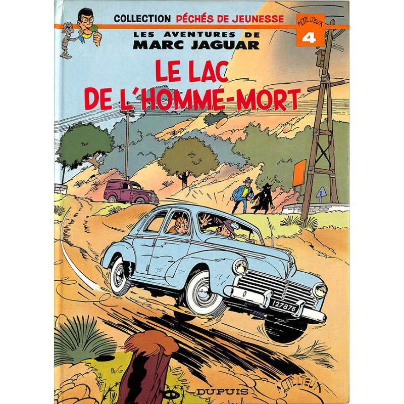 ABAO Bandes dessinées Marc Jaguar. Le Lac de l'homme-mort