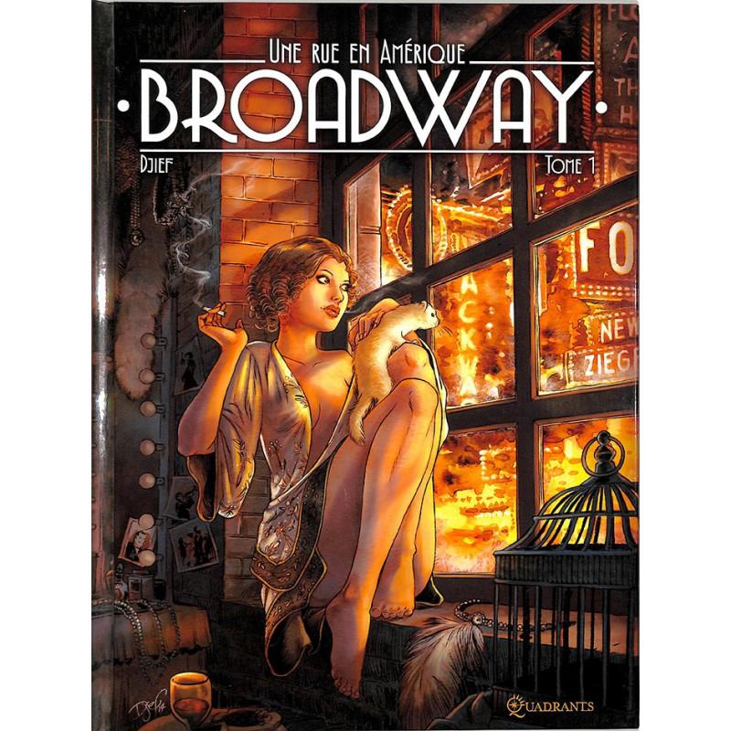 ABAO Bandes dessinées Broadway - Une rue en Amérique 01