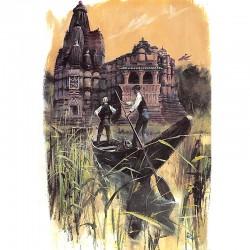 Cartes postales Follet (René) - Carte de voeux signée.