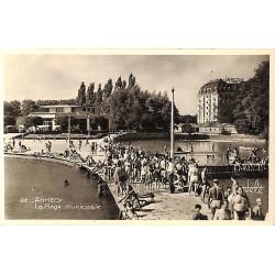 ABAO 74 - Haute Savoie [74] Annecy - La Plage municipale.