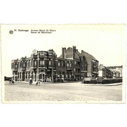 Flandre occidentale Zeebruges - Avenue Baron de Maere.