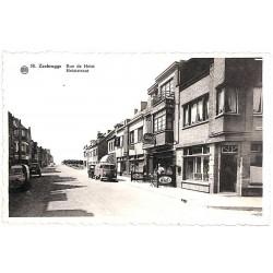Flandre occidentale Zeebruges - Rue de Heist.