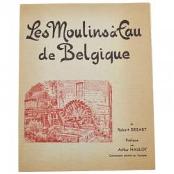 ABAO Belgique Desart (Robert) - Les Moulins à eau de Belgique. Avec 1 tiré à part.