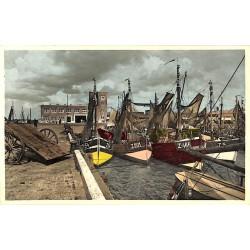 Flandre occidentale Zeebruges - Le Port de Pêche.