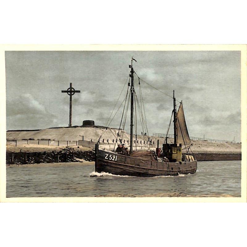 Flandre occidentale Zeebruges - Départ pour la pêche.