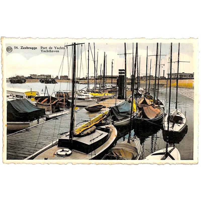 Flandre occidentale Zeebruges - Port de Yachts.
