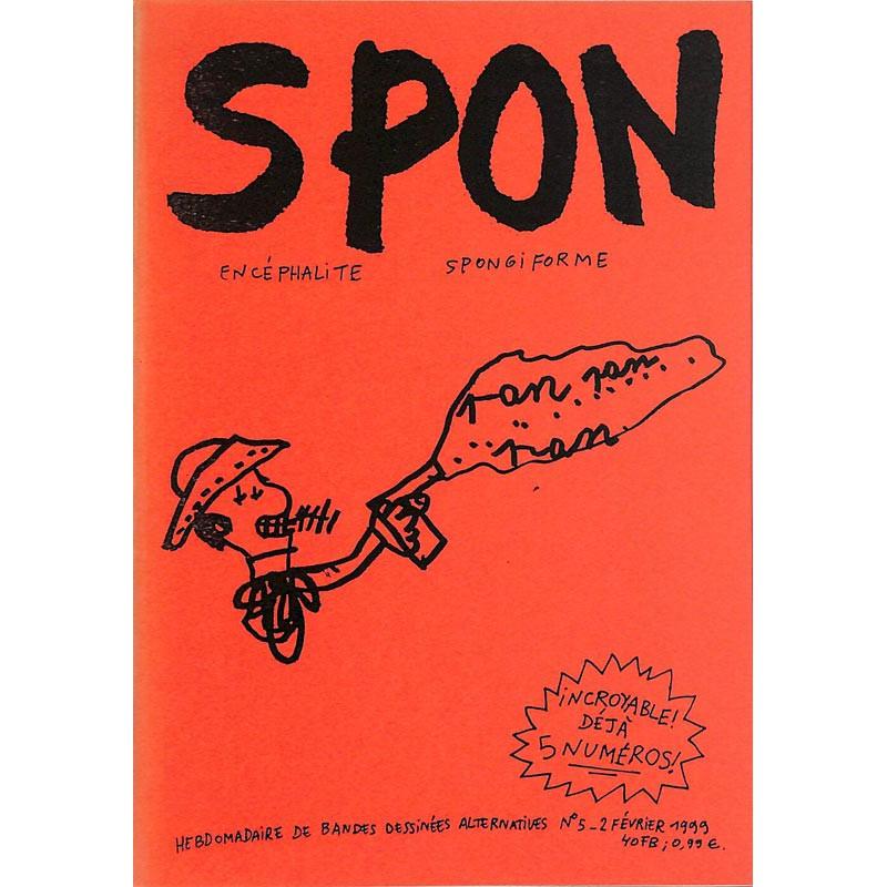 Bandes dessinées Spon 05