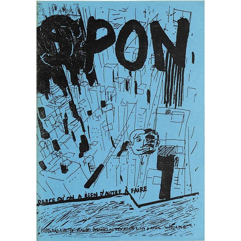 Bandes dessinées Spon 14
