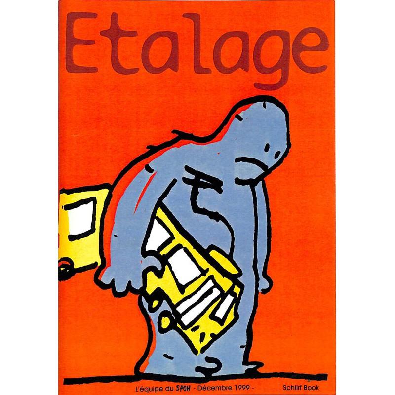 Bandes dessinées Etalage - L'équipe du Spon pour la librairie Schlirf Book.