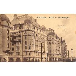ABAO Suède Stockholm - Parti av Strandvägen.