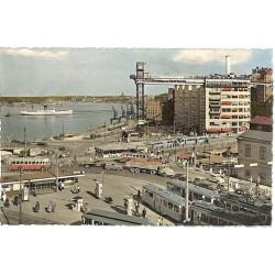 ABAO Suède Stockholm - Motiv frän Slussen med Katarinahissen Katarina Elevator.