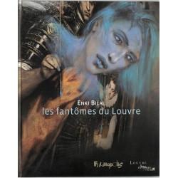 ABAO Bandes dessinées Les Fantômes du Louvre + Tiré-à-part num. & s.
