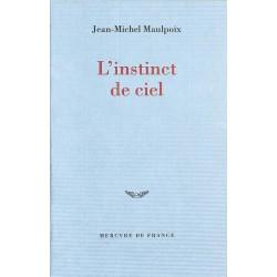 ABAO Romans Maulpoix (Jean-Michel) - L'Instinct du ciel.