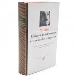 ABAO La Pléiade Mauriac (François) - Œuvres romanesques et théâtrales complètes I.