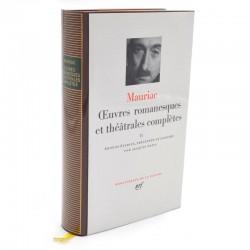 ABAO La Pléiade Mauriac (François) - Œuvres romanesques et théâtrales complètes II.