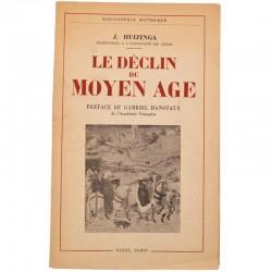 ABAO Accueil Huizinga (Johan) - Le Déclin du Moyen Âge.