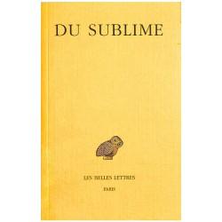 ABAO Romans Pseudo-Longin - Du sublime.