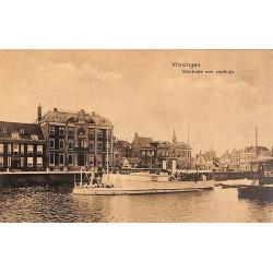 ABAO Pays-Bas Vlissingen - Dokkade met stadhuis.