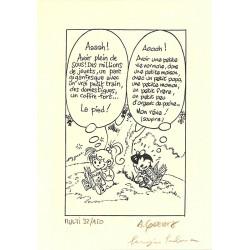 ABAO Sérigraphies & posters Geerts (André) & Salma (Sergio) - Ex-Libris signé et num. / 150 ex.