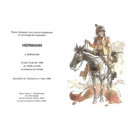 ABAO Varia Hermann - Carton d'invitation 15/01/1998.