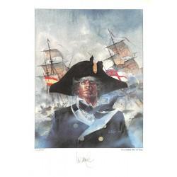 ABAO Sérigraphies & posters Vance (William) - Bruce J. Hawker. Tiré à part signé et num. / 600