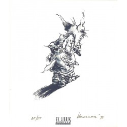 ABAO Sérigraphies & posters Hausman (René) - Loup blanc. Tiré à part signé et num. / 225