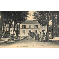 ABAO 17 - Charente-Maritime [17] Chatelaillon-Plage - Avenue de la gare.