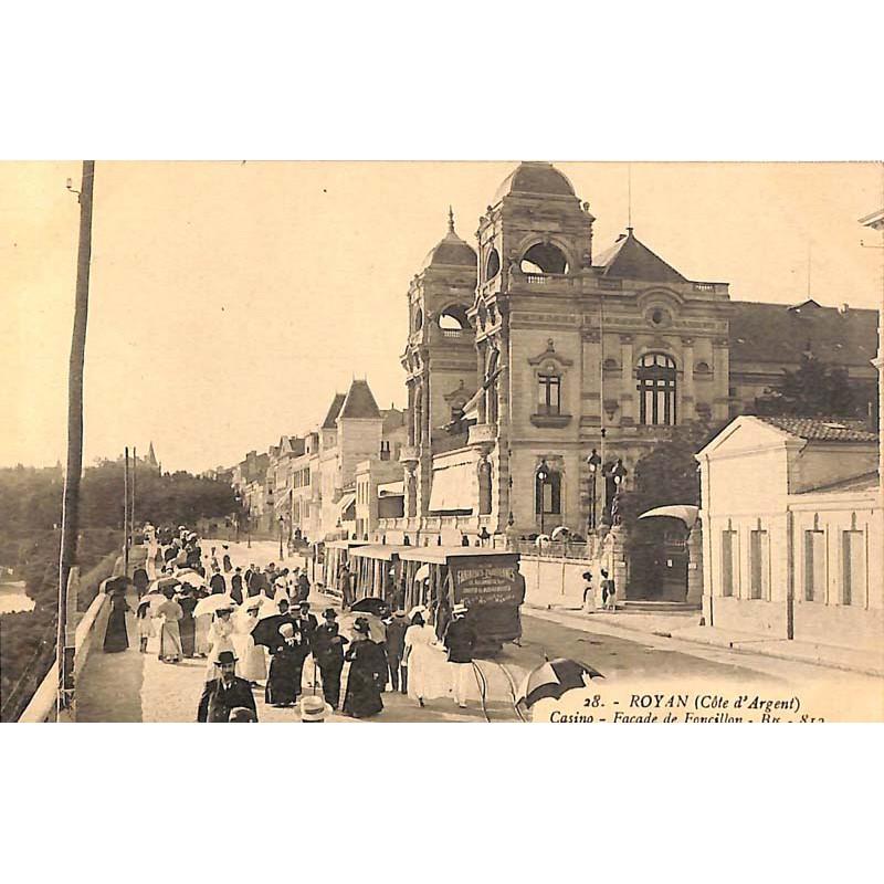 ABAO 17 - Charente-Maritime [17] Royan - Casino - Façade de Foncillon.