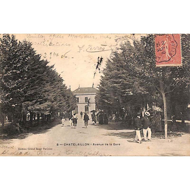 ABAO 17 - Charente-Maritime [17] Chatelaillon - Avenue de la Gare.