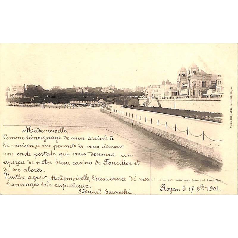 ABAO 17 - Charente-Maritime [17] Royan - Les Nouveaux Quais et Foncillon.