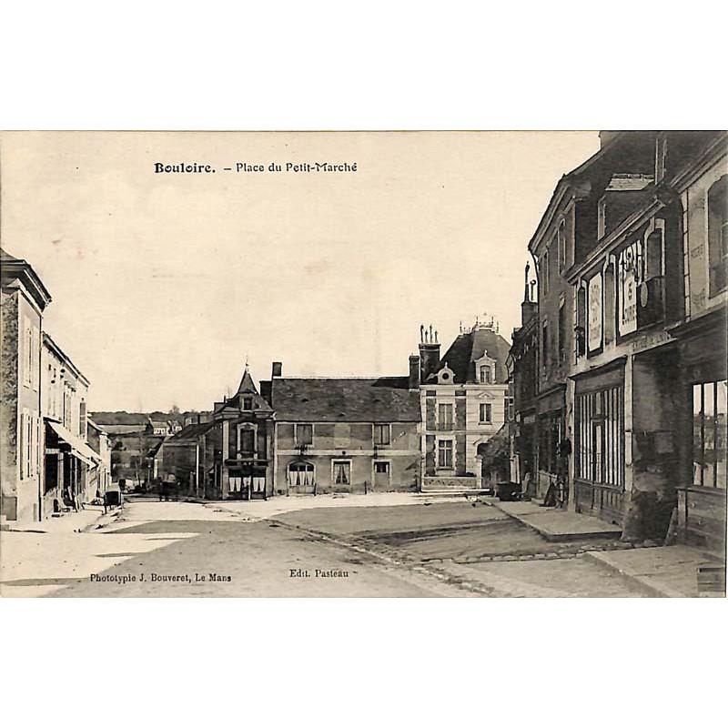ABAO 72 - Sarthe [72] Bouloire - Place du Petit-Marché.