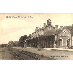 ABAO 72 - Sarthe [72] Château-du-Loir - La Gare.